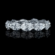 5.30ct Diamond Platinum Eternity Wedding Band Ring