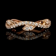.50ct Diamond 14k Rose Gold Ring