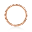 .34ct Diamond 18k Rose Gold Eternity Ring