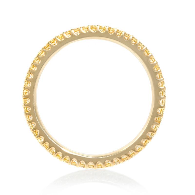 36ct diamond 18k yellow gold eternity ring. Black Bedroom Furniture Sets. Home Design Ideas