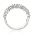 1.13ct Diamond Antique Style 18k White Gold Ring