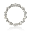 .65ct Diamond Antique Style 18k White Gold Eternity Ring