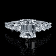 1.16ct Diamond 18k White Gold Engagement Ring Setting