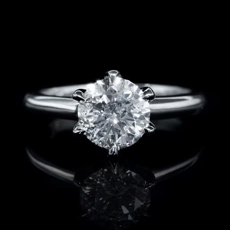 Platinum Engagement Ring Mounting