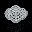 1.37ct Diamond 18k White Gold Ring