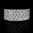 2.27ct Diamond 18k Two Tone Gold Ring