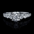 .76ct Diamond Platinum Engagement Ring Setting