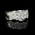1.48ct Diamond Antique Style 18k White Gold Ring