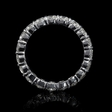 2.73ct Diamond Platinum Eternity Wedding Band Ring