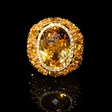 .18ct Diamond, Yellow Sapphire and Citrine 18k Yellow Gold Ring