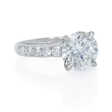 .42ct Diamond Platinum Engagement Ring Setting