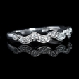 .22ct Diamond Antique Style 18k White Gold Ring