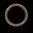 .85ct Diamond 18k Rose Gold Eternity Ring