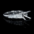 .88ct Diamond Platinum Channel Set Engagement Ring Setting