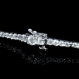 2.62ct Diamond 18k White Gold Tennis Bracelet