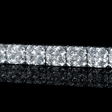 9.20ct Diamond 18k White Gold Bracelet