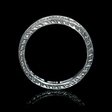.66ct Diamond Antique Style 18k White Gold Eternity Ring