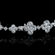 9.17ct Diamond Antique Style 18k White Gold Bracelet