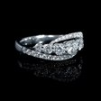 1.19ct Diamond 18k White Gold Ring