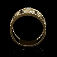 .20ct Diamond Antique Style 18k Two Tone Gold Ring