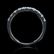 .57ct Diamond 18k White Gold Wedding Band Ring