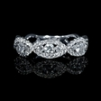 .79ct Diamond 18k White Gold Ring
