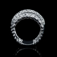 1.26ct Diamond Antique Style 18k White Gold Ring