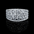 2.07ct Diamond 18k White Gold Ring