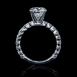 .82ct Diamond Platinum Engagement Ring Setting