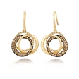 1.18ct Le Vian Chocolatier Diamond 14k Honey Gold Link'ing Earrings