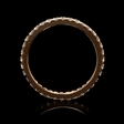 .71ct Diamond 18k Rose Gold Eternity Ring