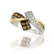 .65ct Le Vian Chocolatier Diamond 14k Two Tone Gold Ring