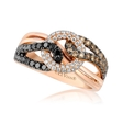 .92ct Le Vian Exotics Diamond 14k Strawberry Gold Ring