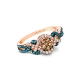 .73ct Le Vian Exotics Diamond 14k Strawberry Gold Ring