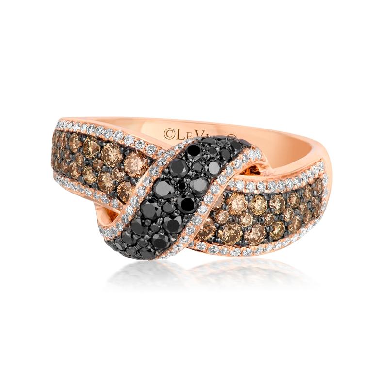 1 34ct le vian exotics 14k strawberry gold ring