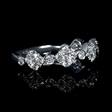 .74ct Diamond 18k White Gold Ring