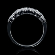 .31ct Diamond Antique Style 18k White Gold Ring