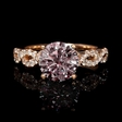 .38ct Diamond 18k Rose Gold Engagement Ring Setting