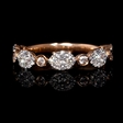 .72ct Diamond 18k Rose Gold Ring