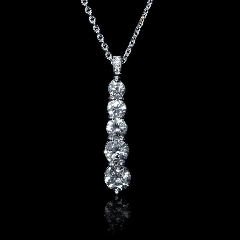 0f339031e5e77 Journey Diamond Pendant Necklace