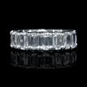 f4836cd7d3d ... L Amour Crisscut Collection Diamond Platinum Eternity Wedding Band Ring