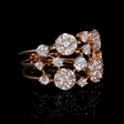1.36ct Diamond 18k Rose Gold Ring