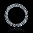 4.84ct Diamond 18k White Gold Eternity Wedding Band Ring