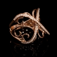 .24ct Diamond 18k Rose Gold Ring