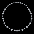17.40ct Diamond 18k White Gold Necklace