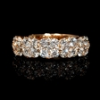 1.65ct Diamond 18k Rose Gold Ring