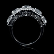 2.93ct Simon G Diamond 18k White Gold Wedding Ring