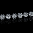 6.72ct Diamond 14k White Gold Tennis Bracelet