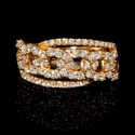 LeVian Diamond 14K Rose Gold Ring