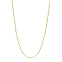 Diamond 14k Yellow Gold Necklace